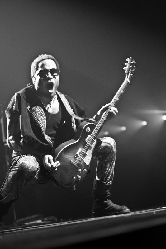 Lenny Kravitz  photo Frédéric Lebourg / LEAIMAGE