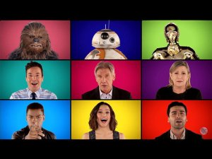 Watch-Jimmy-Fallon-Sing-Star-Wars-Medley-Capella-Carrie-Fisher-Daisy-Ridley-Harrison-Ford-More